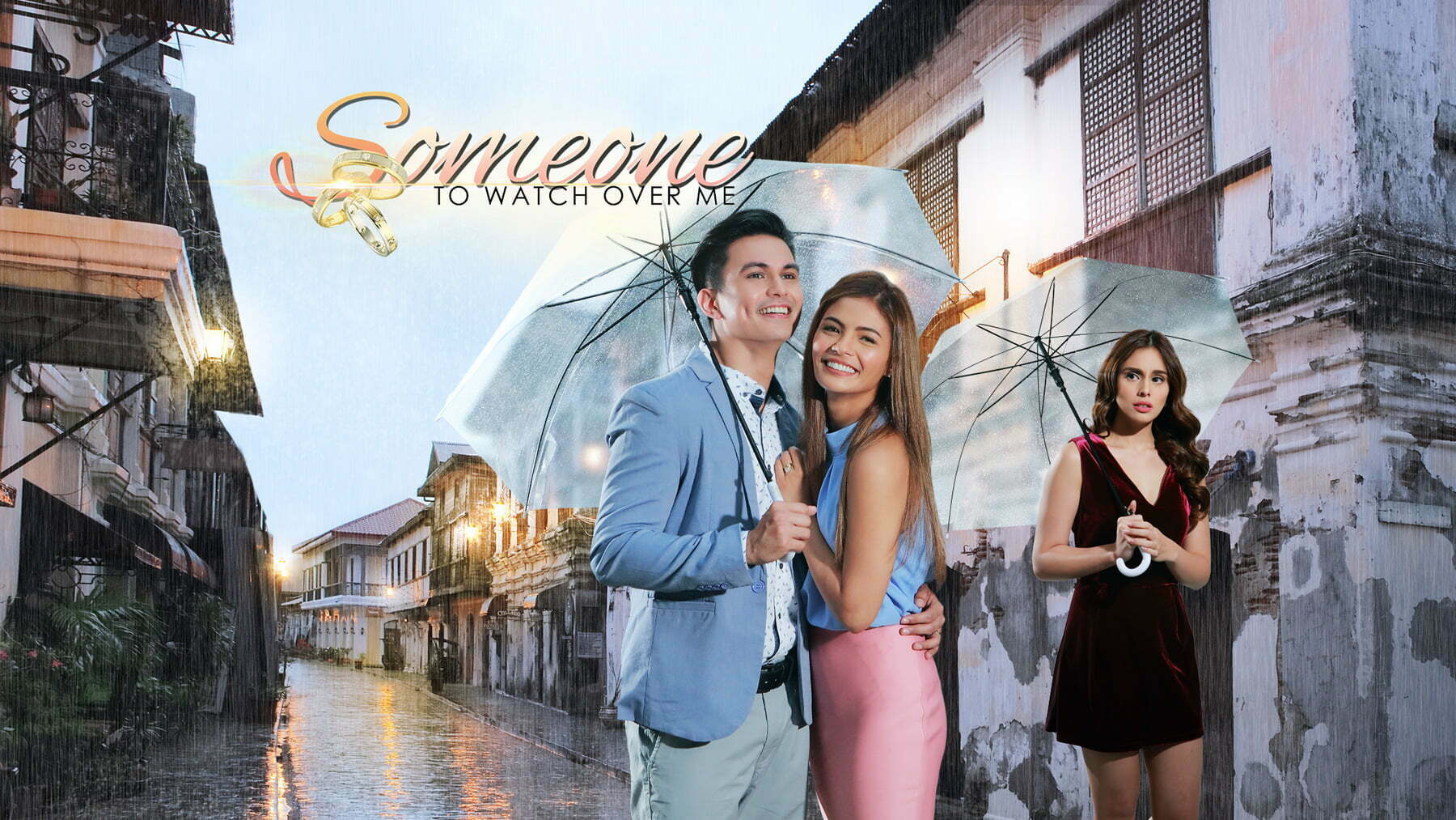 """Someone to Watch Over Me"" stars Tom Rodriguez, Lovi Poe, and Max Collins"