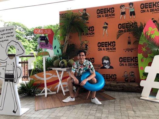 Ederic Eder at Geeks On A Beach