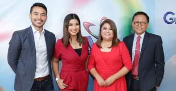 Atom Araullo, Kara David, Sandra Aguinaldo, Howie Severino