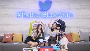 BLACKPINK at #TwitterBlueroom