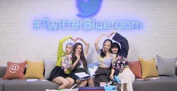BLACKPINK at #TwitterBlueroom