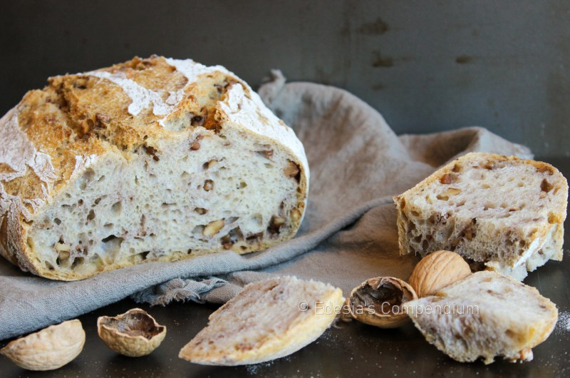 Sourdough Bread with Toasted Walnuts