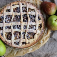 Italian Pear Tart Recipe