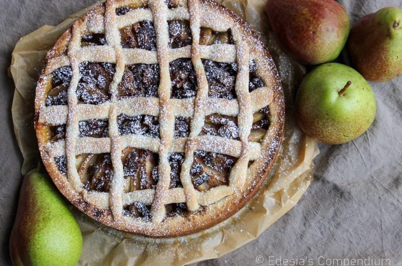 Italian Pear Tart Recipe