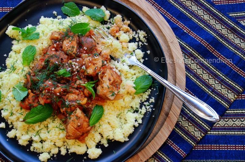 Chicken Tajine with Chickpeas