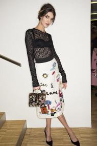 Dolce & Gabbana backstage
