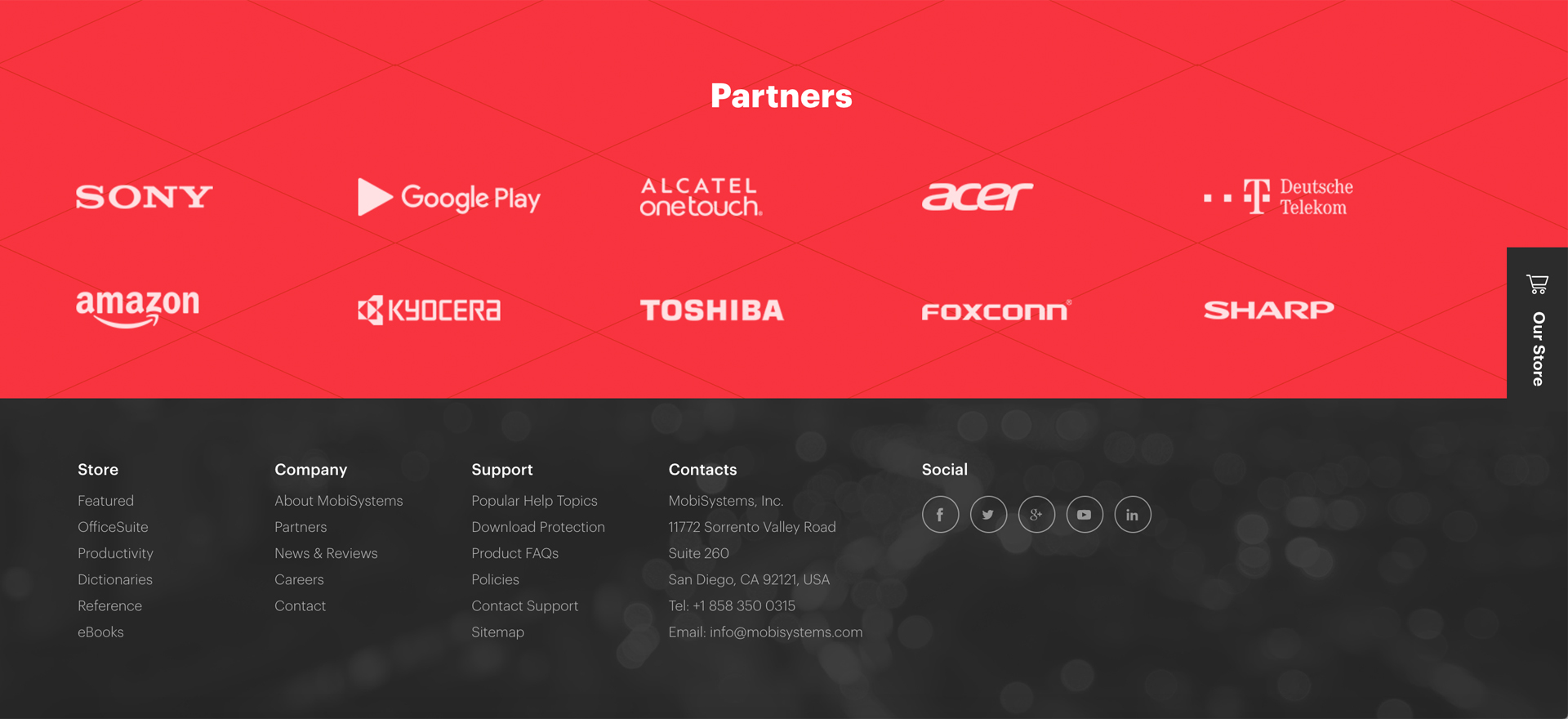 Just like any other componentd of mdbootstrap, footers are responsive by … eDesign Interactive | How to Design an Efficient Website ...