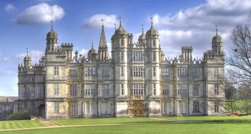 Burghley House, Stamford, Lincs - Exeter Cecil genealogy deVere Shakespeare