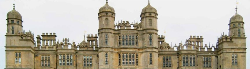 Banner - Burghley House, Stamford - Exeter Cecil genealogy deVere