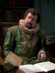 Dan Tetsell looking nothing like me on the telly - Shakespeare Authorship birthday survey