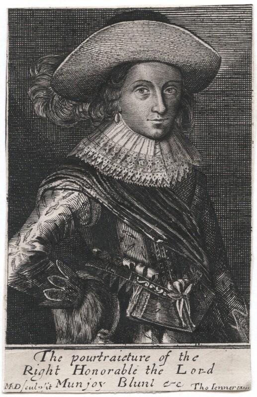 Droeshout engraving 01 Blount - First Folio Droeshout engraver