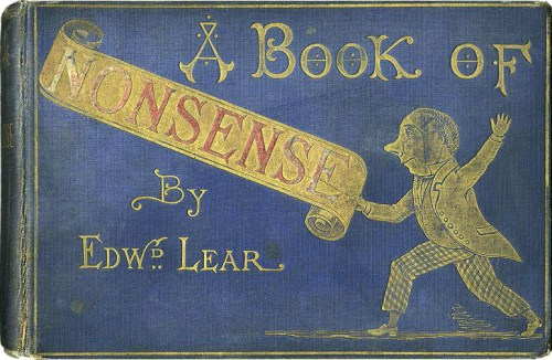 A Book of Nonsense 1875 cover - Shake-Speare's connection limerick Lear
