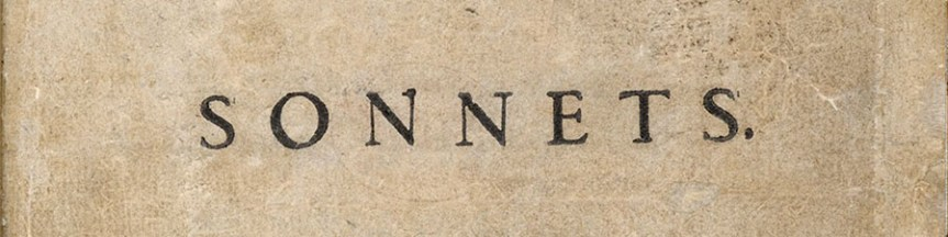Banner - Sonnets word from 1609 title page - Sonnets Twitter 154 tweets