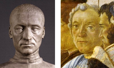 Filippo Strozzi v Gaspare del Lama - Medici Florence Botticelli Adoration