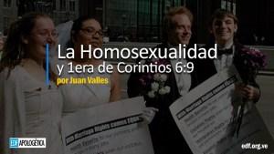 La Homosexualidad en la Biblia: 1Corintios 6:9