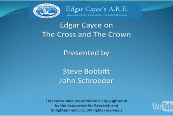 edgar cayce on the cross and crown