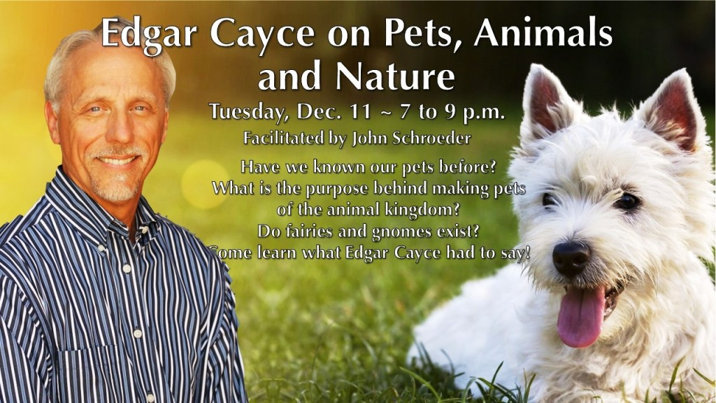 Edgar Cayce on pets