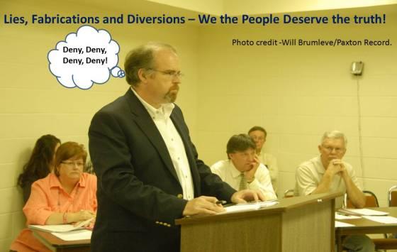 Ford County Board -Corbett presentation photo