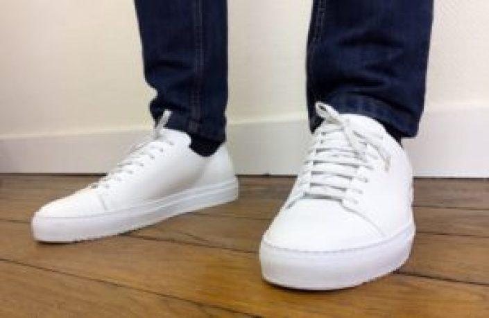 Basket Axel Arigato Cap-toe blanche