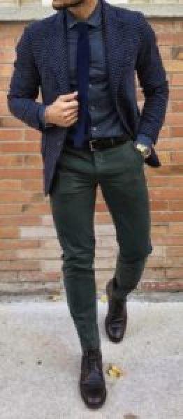 Pantalon semi-slim homme petite taille