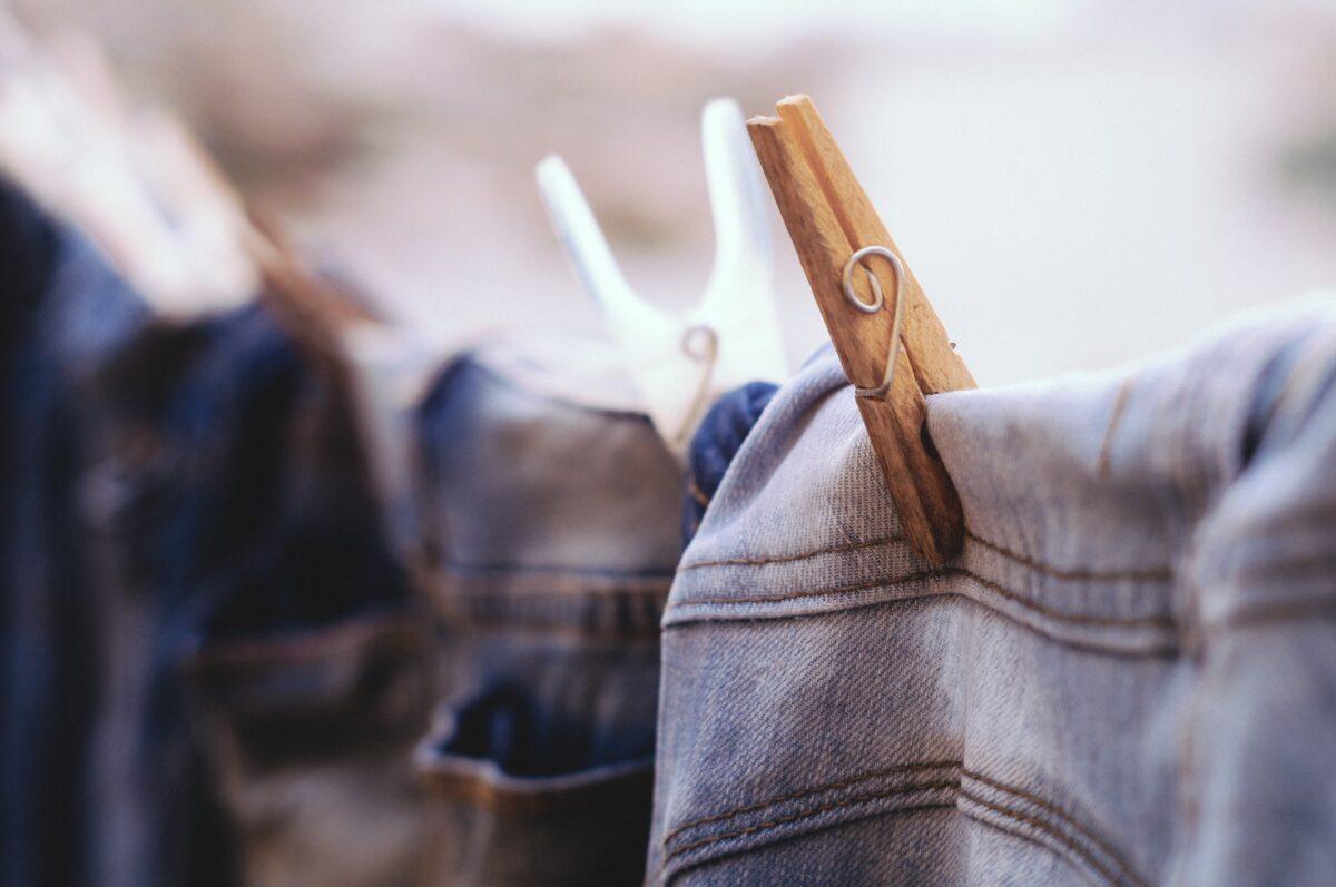comment sécher son pantalon en jean