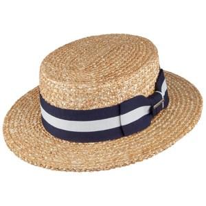 Chapeau pour homme modèle canotier stetson