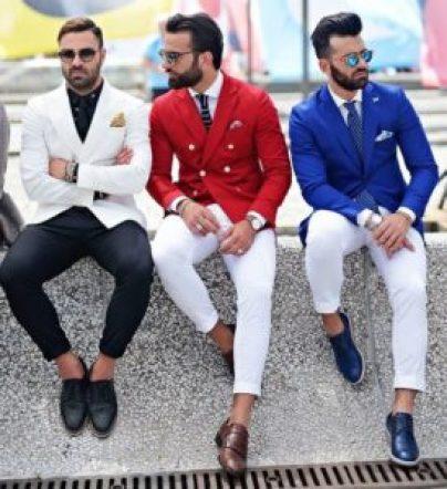choisir sa cravate costume de couleur vives