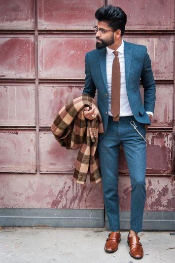 idées d'association de costume et cravate