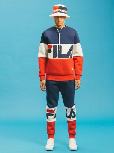total look fila streetwear