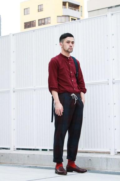 vêtements couleur rouge peau claire