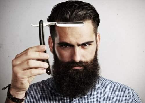 Coupe-chou pour tailler sa barbe