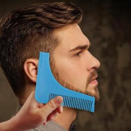 Comment tailler sa barbe avec un peigne traceur de contour