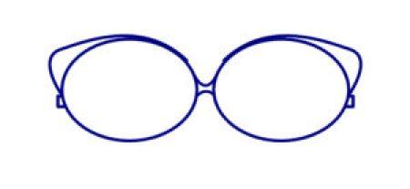 comment bien choisir ses lunettes selon son visage ? lunette oeil de chat