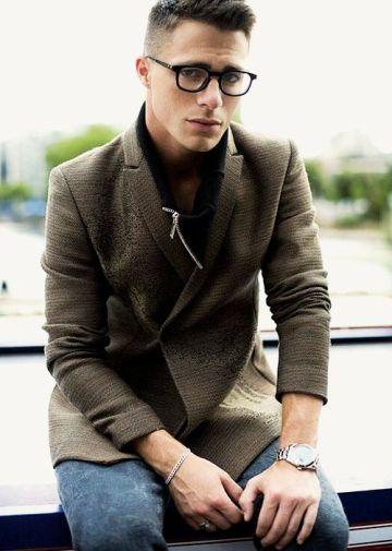 comment bien choisir ses lunettes selon son visage ? homme visage rond morphologie edgard