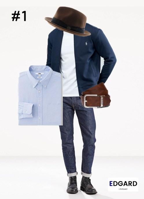 Idée de look tenue homme