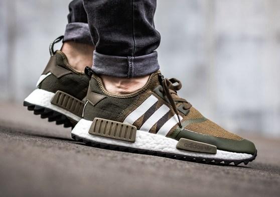 Le meilleur de la sneaker street Adidas couleur kaki