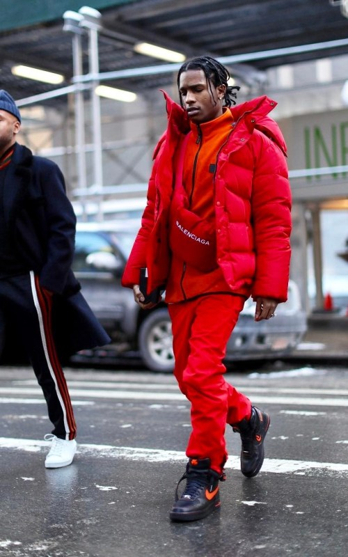 Stylé comme une star : À qui ressemblez-vous ? Asap Rocky chanteur rappeur musique homme style stylé look street chic mode fashionweek