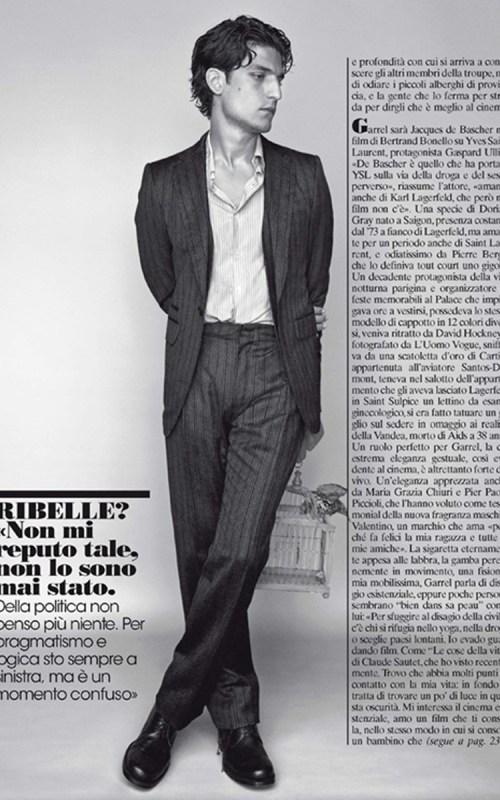 Stylé comme une star : À qui ressemblez-vous ? louis garrel homme tendance style français casual chic détente