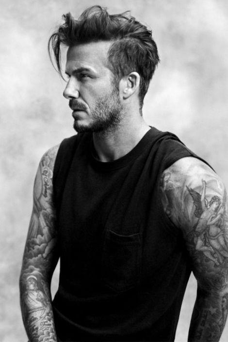 coupes de cheveux tendance homme david beckham