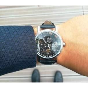 Tenue homme idée de montre