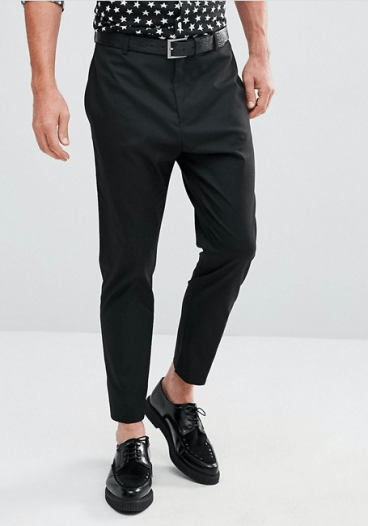 Tenue homme pantalon habillé fuselé