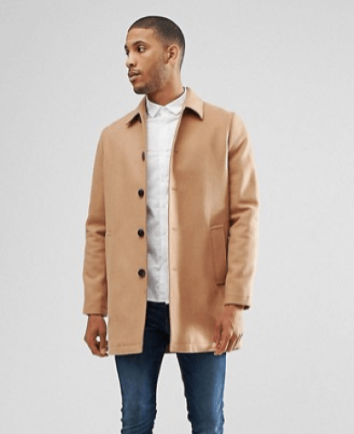 Tenue homme trench beige