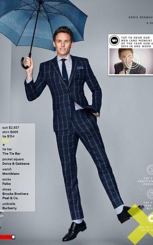 Stylé comme une star : À qui ressemblez-vous ? Eddie Redmayne homme comédien acteur anglais english style stylé look tendance dandy