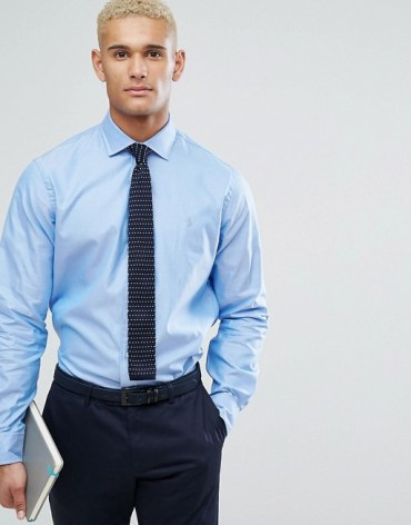 chemise bleu tenue homme ralph lauren