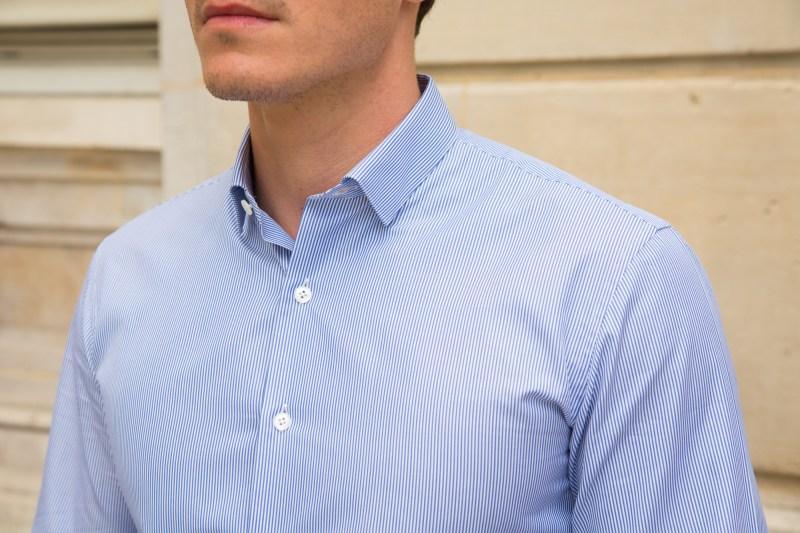 chemise blanche première manche