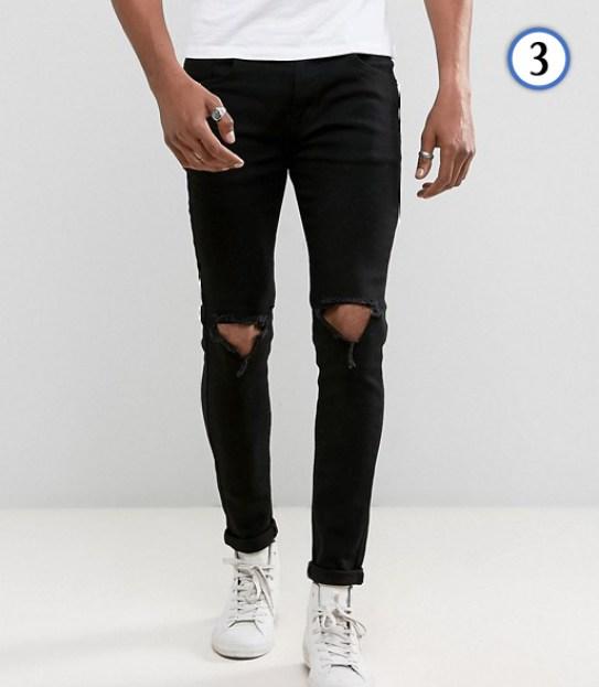 tenue homme jean noir