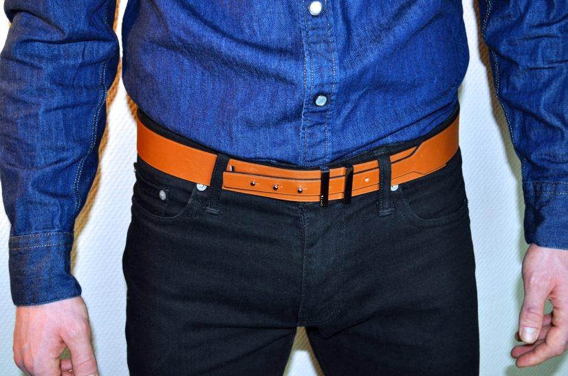 idée de cadeaux pour homme ceinture en cuir
