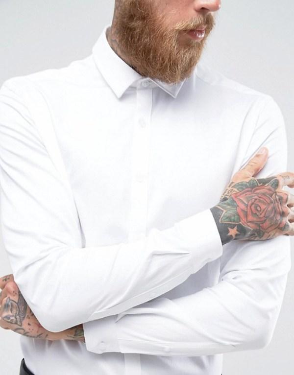 idée de tenue pour le nouvel an chemise