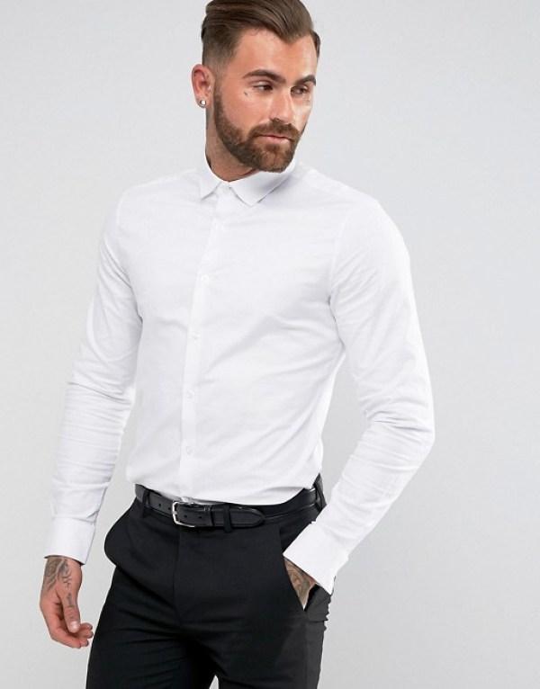 tenue pour nouvel an chemise blanche