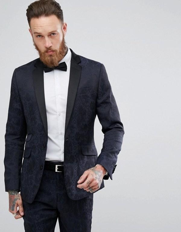 tenue pour nouvel an veste motifs